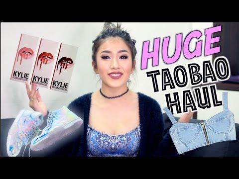 HUGE TAOBAO HAUL / KYLIE JENNER LIPKIT GIVEAWAY & MORE!