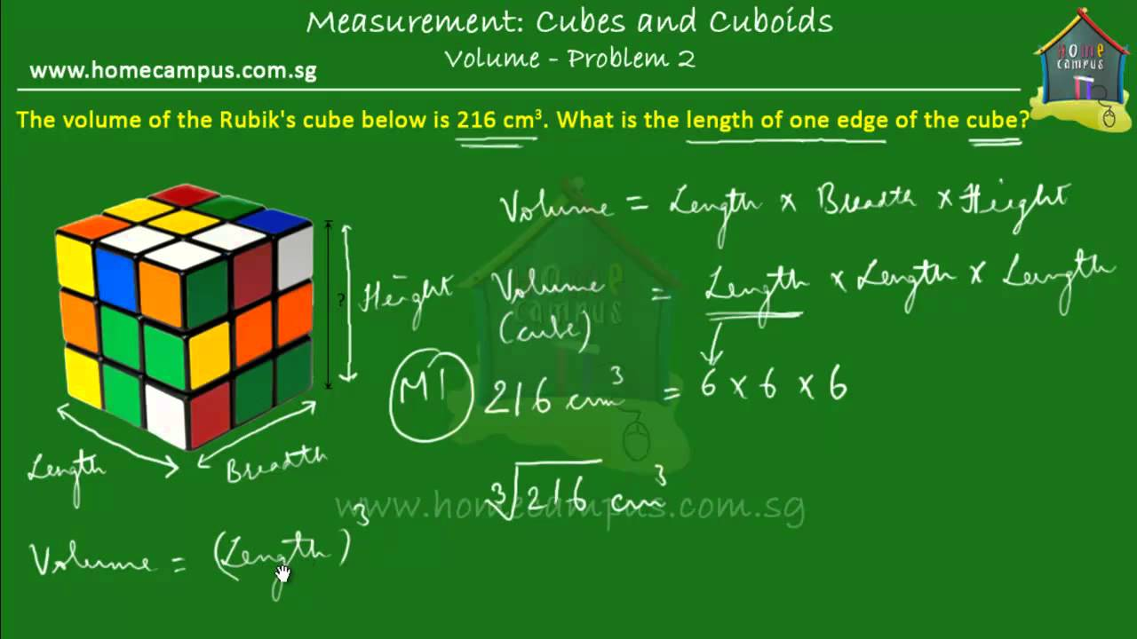 Elementary Math Grade 6 Volume Of Cubes And Cuboids