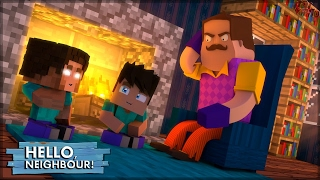 O PAI DO HEROBRINE ! - HELLO NEIGHBOR #24 (MINECRAFT MACHINIMA)
