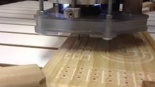 Cnc Router Drilling Cribbage Board