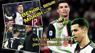 Lagi-lagi diganti Ronaldo mar4h langsung tinggalkan stadion
