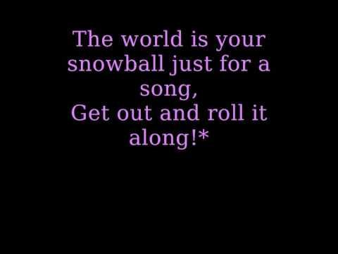 The Cheetah Girls - A Marshmallow World (with lyrics!)