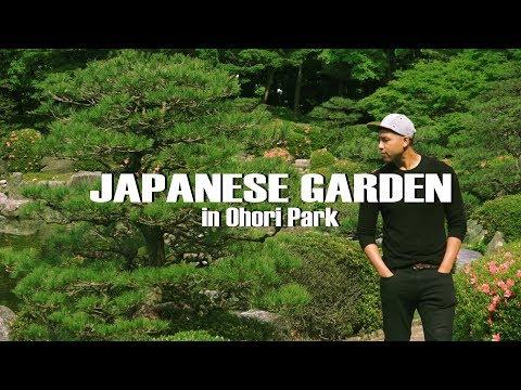 Beautiful Japanese Garden at Ohori Park