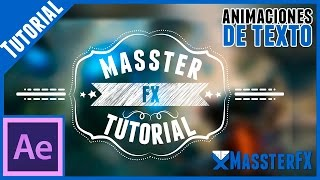 After Effects Tutorial || Titulos Animados (Tipo Bodas)