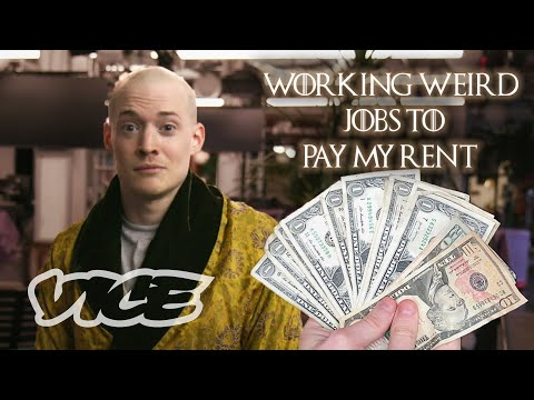 VIDEO: Working Weird Craigslist Jobs to Earn $965 for New York City Rent