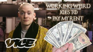 VICE's Will Tilghman tries to make his monthly rent of $965 by working weird jobs posted on the gigs section of New York Craigslist. After staging a photoshoot ...