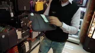 Смотреть видео сумки для ноутбуков