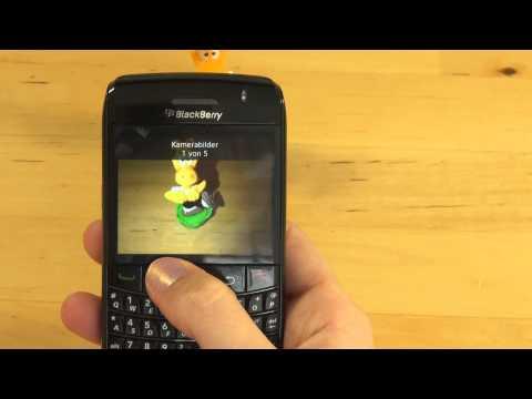 BlackBerry Bold 9780 Test Kamera