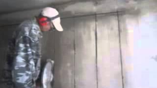 видео Алмазная резка кирпича в Барнауле