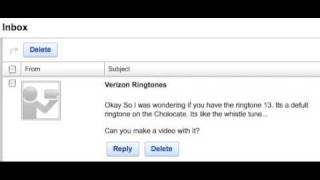 "Ringtone Request: ""Whistle Tune"" from the Verizon LG Chocolate"