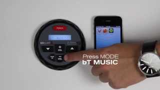 MBQuart Nautic GMR-1 and GMR-2 Bluetooth Source Unit (BT Pairing Process)
