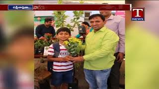 Good Response To  MP Santhosh Kumar andquot;Green Challengeandquot; | South Africa |TNews Telugu