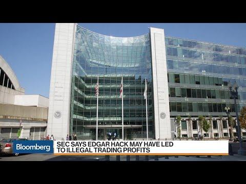 SEC Warns of Illegal Trade Profits From Edgar Hack