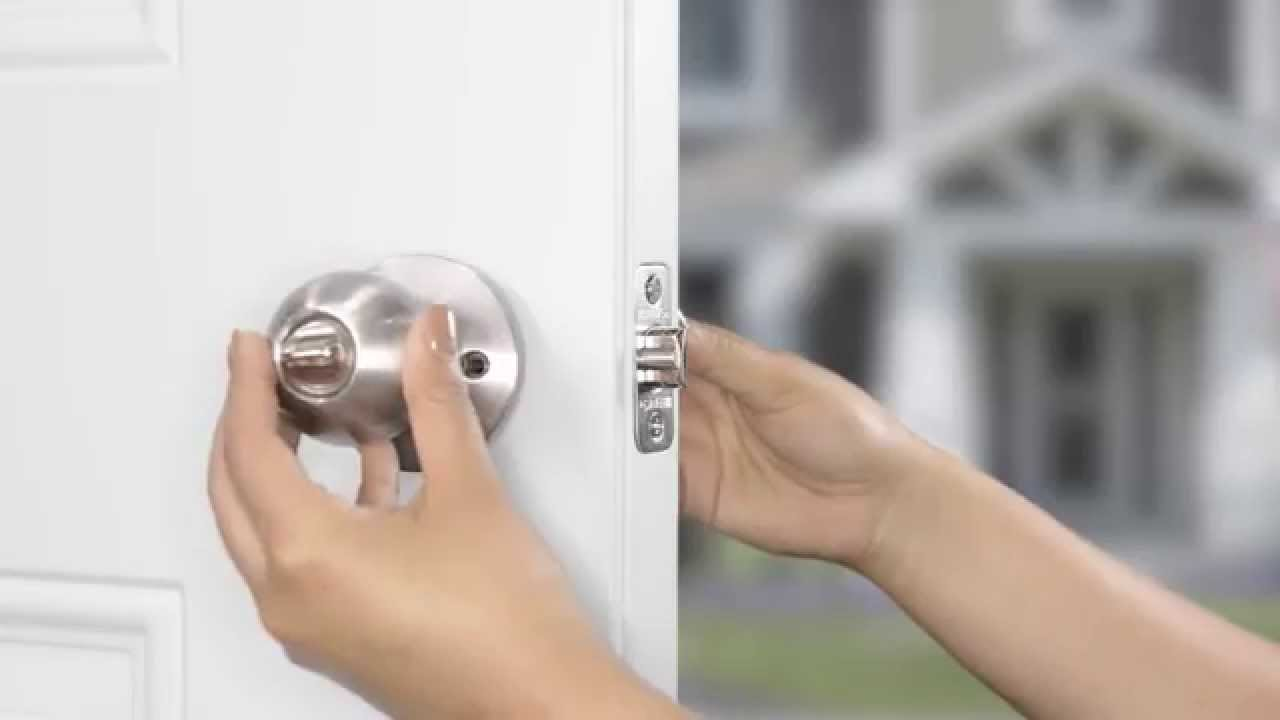 Satin Nickel Brinks 2733-119 Southern Style Door Knob with Privacy Key for Bedroom and Bath