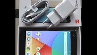 Xiaomi Mi A1 Распаковка  Обзор краткий