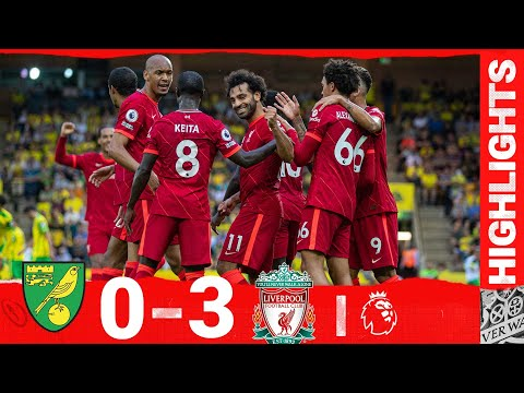 Summary: Norwich 0-3 Liverpool |  Salah sets new record on opening day