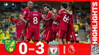 Highlights: Norwich 0-3 Liverpool   Salah sets new opening day record