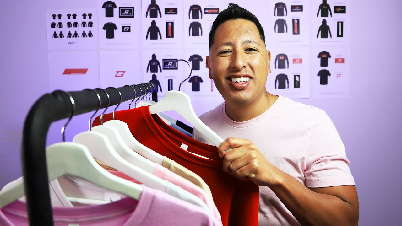 How To Start A Clothing Line From Scratch W/ @johnxsantos