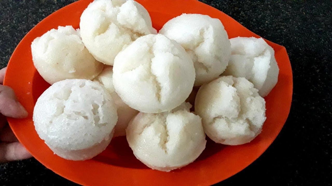 BÁNH BÒ XỐP (Bánh Bò Bông) làm từ gạo theo cách truyền thống của Đậu Đỏ Trần
