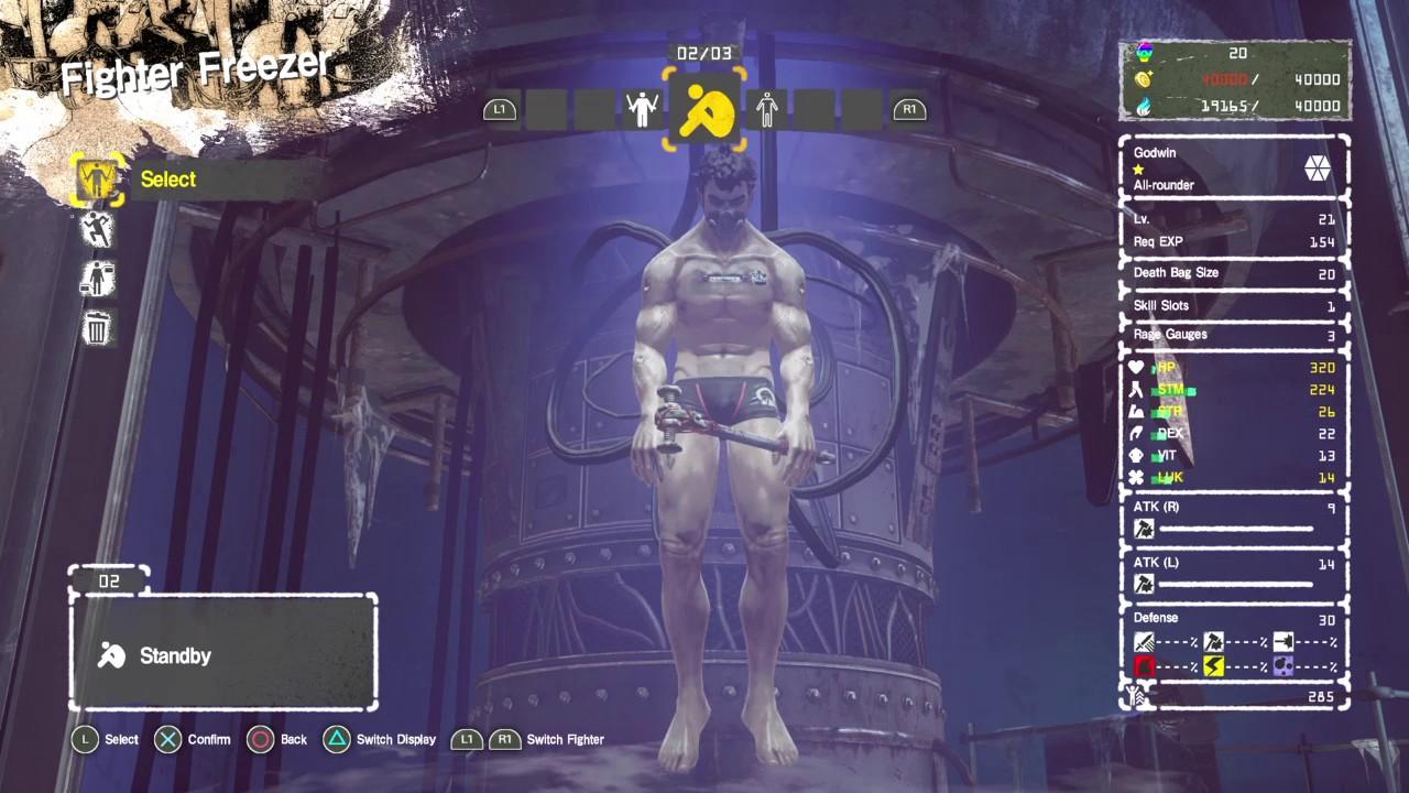 Ігра качать персонажа спокін