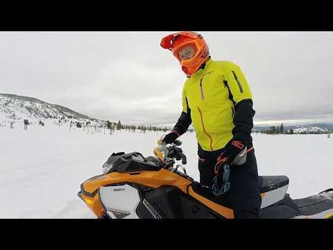 Первый тест Ski Doo Renegade Х RS 900 TURBO 2019