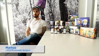LEGO Brickheadz Designer Interview 2018