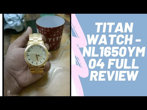 Titan Analog Gold Dial Men's Watch-NL1650YM04 | Full Review|Best Watches For Men In India Under 3000