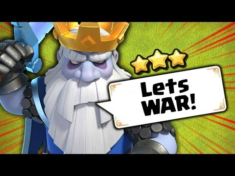 Royal Ghosts In War! The NEW Troop Attack Strategy | Clash Of Clans