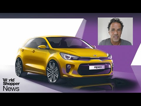 New KIA Rio at the Paris Motorshow