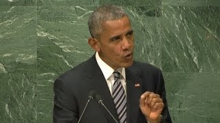 Obama: A nation ringed by walls would imprison itself