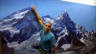 Manoel Morgado explica a subida ao Everest