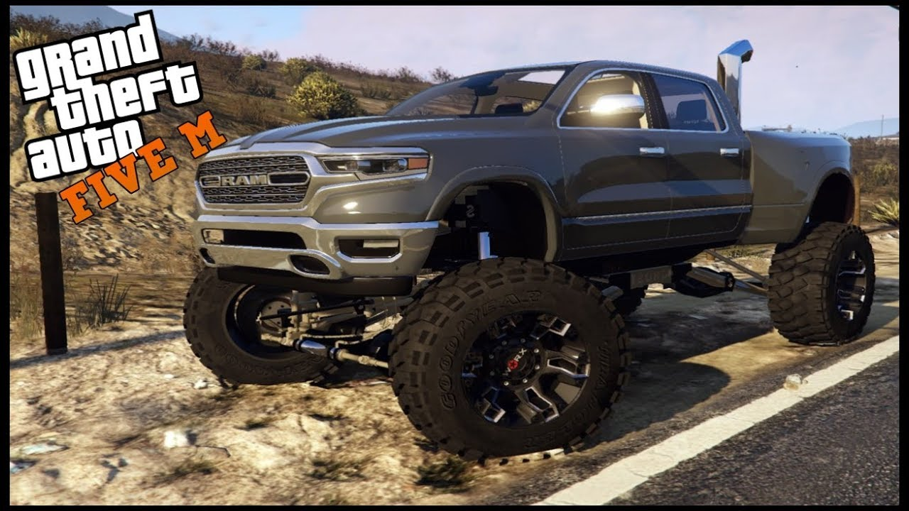 Gta 5 Roleplay My New 2020 Dodge Ram Cummins Ep 488 Civ