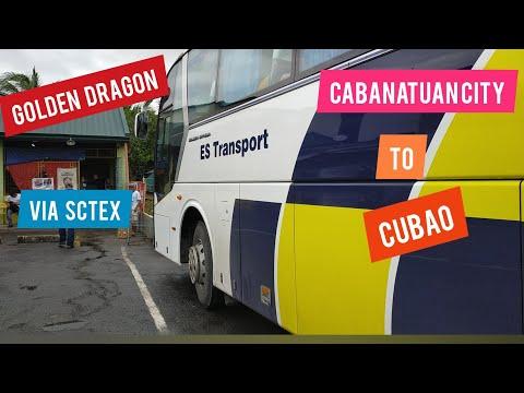 ES Transport Cabanatuan City to Cubao