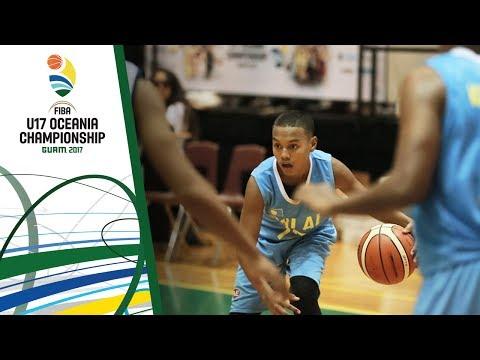Palau v Marshall Islands - 3rd Place Div. B - Full Game - FIBA U17 Oceania Championship 2017