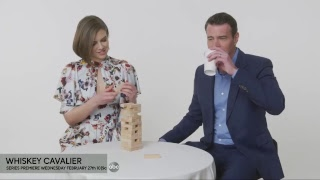 LIVE: Scott Foley and Lauren Cohan from Whiskey Cavalier on ABC Television Network
