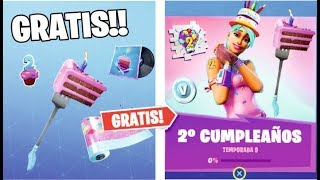 HOW TO COMPLETE THE Challenges ** 2nd FORTNITE BIRTHDAY **(FREE REWARDS)