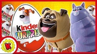 Тайная жизнь домашних животных. Игровой автомат.Киндер сюрприз. Kinder Surprise.