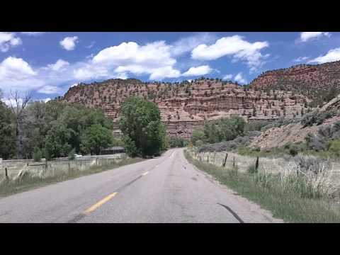 Colorado River Road Time Lapse Dashcam Drive
