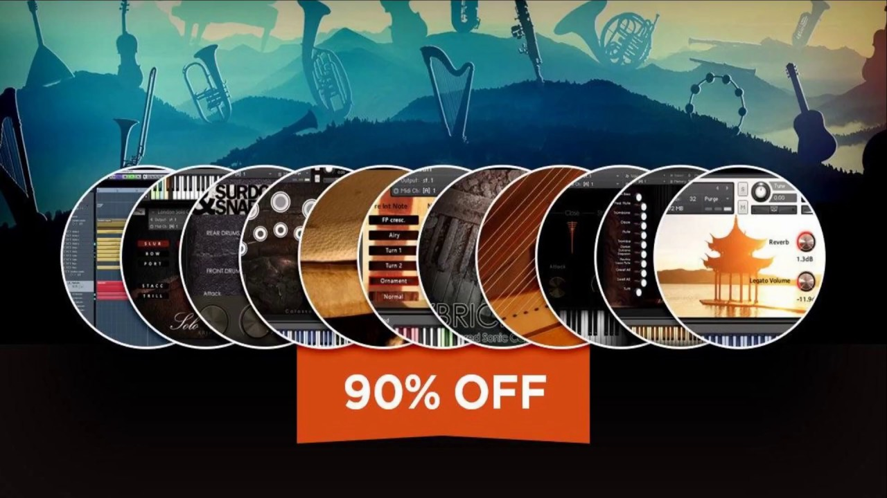 """90% off """"The Orchestral Bundle"""" by Aria Sounds - DEAL ENDS SOON ! VST Buzz"""