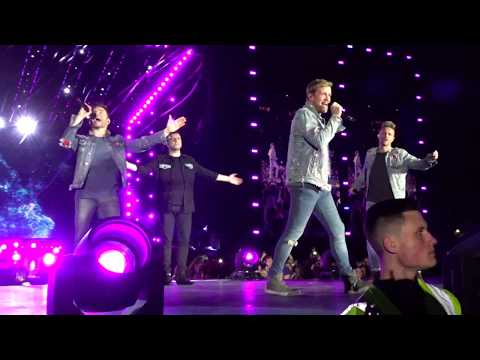 "Westlife ""Dynamite"" 5.7.2019 The Twenty Tour Croke Park, Dublin"