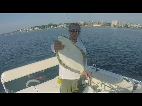 Fluke Fishing With Bucktail And Gulp