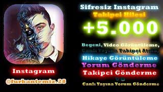 İnstagram Takipçi Hilesi - 1.000 Takipçi Yollama (GERÇEK)