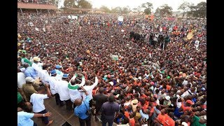 Highlights of the Nasa rally in Trans-Nzoia