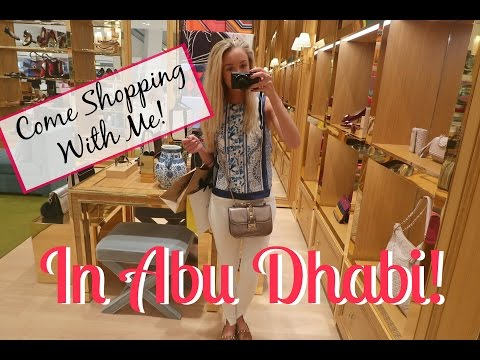 Come Shopping With Me! In YAS Mall (Ferrari World) - Abu Dhabi!   |   Fashion Mumblr Travel Vlog