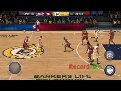 NBA live mobile: Cleveland cavaliers vs. Indiana pacers