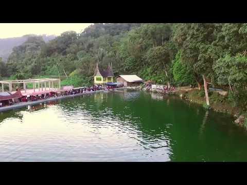 Suasana lebaran idul Fitri di Sungai Janiah