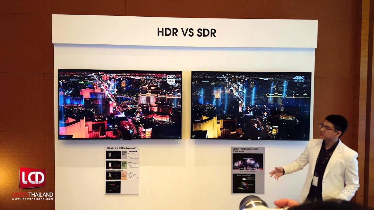 Pubg Hdr Vs No Hdr: HDR VS Non-HDR TV Showdown : Sony 4K HDR TV 2016