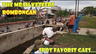 ROMBONGAN THE MBAHKeteers. Lokasi Mancing paling Favorit! #PART2 LANJUTAN