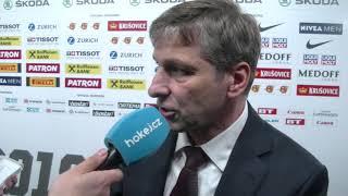 MS 2018: Josef Jandač o výhře proti Švýcarsku