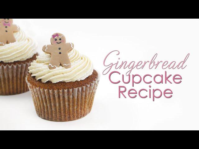 Gingerbread Cupcake & Buttercream Recipe